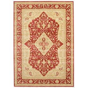 6×9 Red Kensington  Rugs