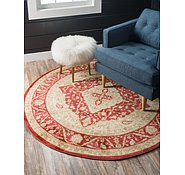 Link to Unique Loom 8' x 8' Edinburgh Round Rug