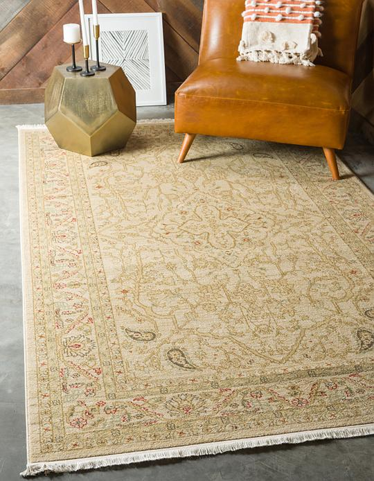 Cream 7 X 10 Kensington Rug Area Rugs Esalerugs