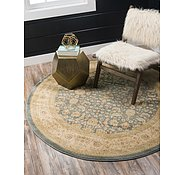Link to Unique Loom 8' x 8' Heritage Round Rug