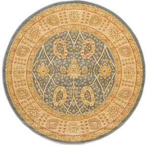 Link to 185cm x 185cm Kensington Round Rug page