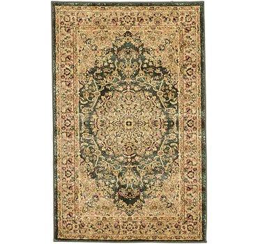 99x160 Mashad Design Rug