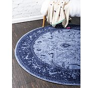 Link to Unique Loom 8' x 8' La Jolla Round Rug