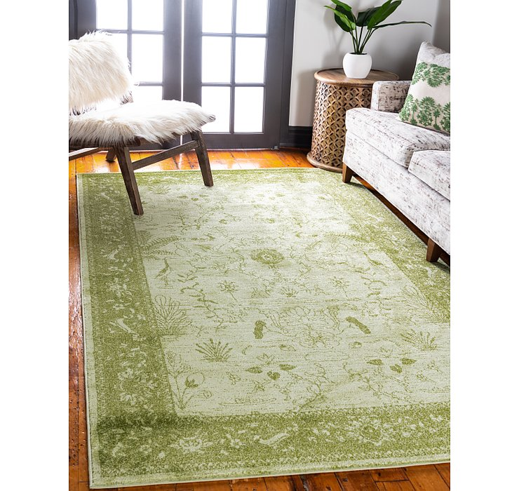 Light Green Miranda Rug