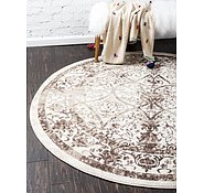 Link to Unique Loom 12' 2 x 12' 2 La Jolla Round Rug
