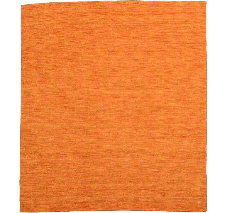 Orange Indo Gabbeh Rug
