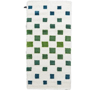 99x201 Abstract Shag Rug