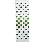 Link to 3' 3 x 9' 10 Abstract Shag Runner Rug