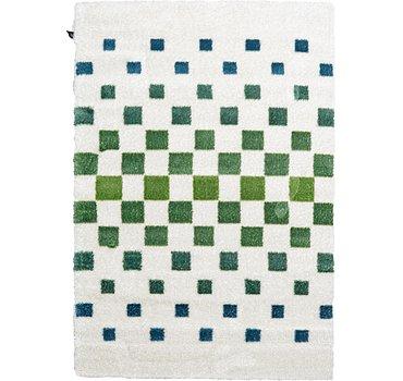 160x231 Abstract Shag Rug