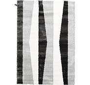 Link to 5' 3 x 7' 7 Abstract Shag Rug
