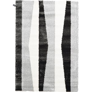 Link to 5' 3 x 7' 7 Abstract Shag Rug page