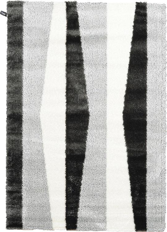Ivory  5' 3 x 7' 7 Abstract Shag