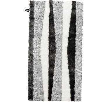 79x150 Abstract Shag Rug