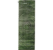 Link to 100cm x 300cm Abstract Shag Runner Rug