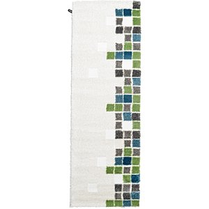 Link to 3' 3 x 9' 10 Abstract Shag Runner Rug page