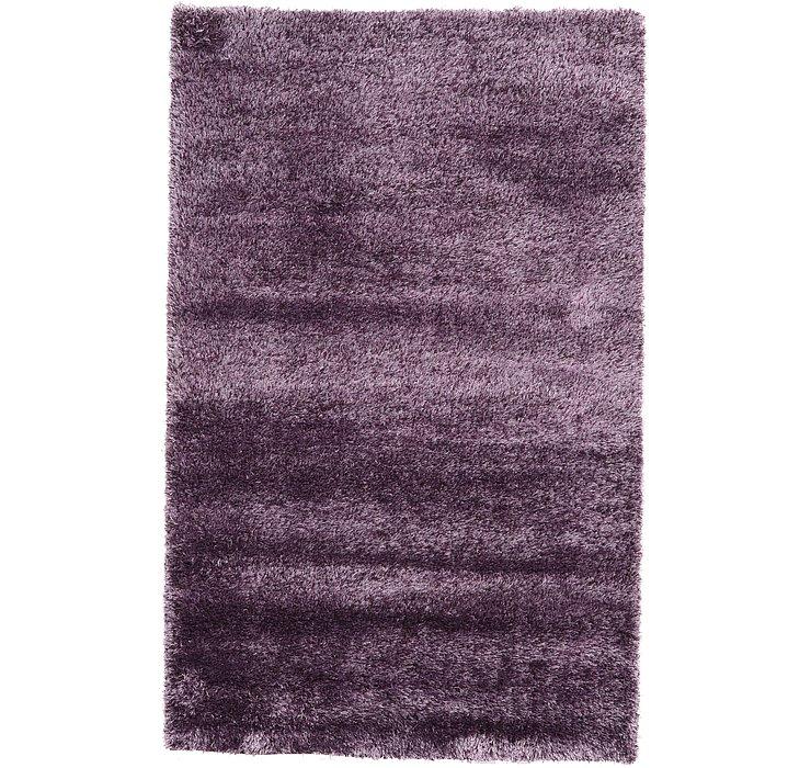 Fig Purple Luxury Solid Shag Rug