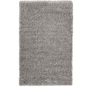 Link to 3' 3 x 5' 3 Luxe Solid Shag Rug