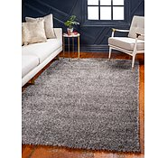 Link to 5' x 8' Luxe Solid Shag Rug