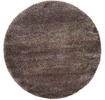 185x185 Luxe Solid Shag Rug