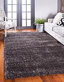 5' x 8' Luxury Solid Shag Rug thumbnail