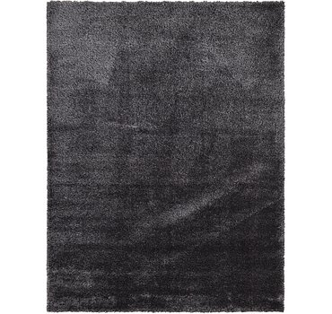 274x366 Luxe Solid Shag Rug