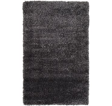 99x160 Luxe Solid Shag Rug