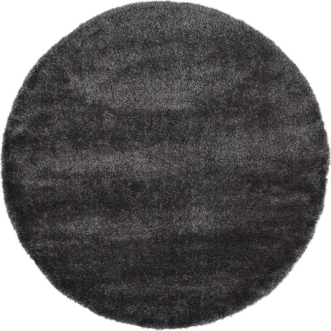 8 X Luxe Solid Round Rug