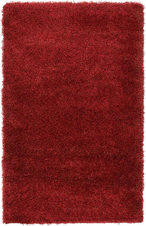 Red 3 3 X 5 3 Luxe Solid Shag Rug Area Rugs Irugs Uk