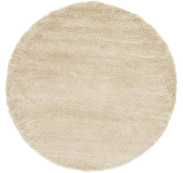 244x244 Luxe Solid Shag Rug