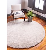 Link to Unique Loom 8' x 8' Luxe Solo Round Rug