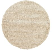 Link to 185cm x 185cm Luxe Solid Shag Round Rug