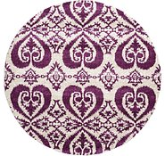 Link to 8' x 8' Ikat Round Rug