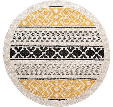 244x244 Luxe Frieze Rug