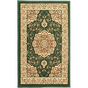 Link to 1' 8 x 2' 8 Mashad Design Rug page