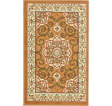 51x81 Mashad Design Rug