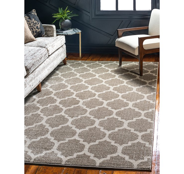 Unique Loom 12' 2 x 16' Trellis Rug