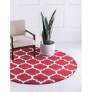 Link to 12' 2 x 12' 2 Trellis Round Rug page
