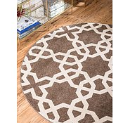 Link to Unique Loom 8' x 8' Trellis Round Rug