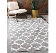 Link to Unique Loom 10' 6 x 16' 5 Trellis Rug