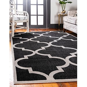 Unique Loom 9' x 12' Trellis Rug