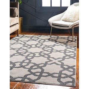 Unique Loom 3' 3 x 5' 3 Trellis Rug