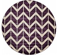 Link to 8' x 8' Chevron Round Rug
