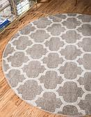 8' x 8' Lattice Round Rug thumbnail image 2