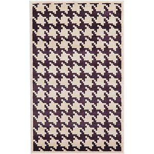 Unique Loom 3' 3 x 5' 3 Houndstooth Rug