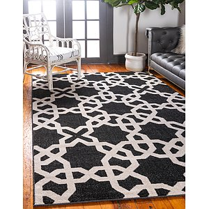 Unique Loom 7' x 10' Trellis Rug
