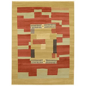 10x13 Red Modern  Rugs