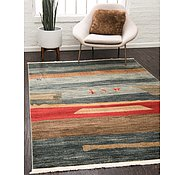 Link to Unique Loom 4' x 6' Fars Rug