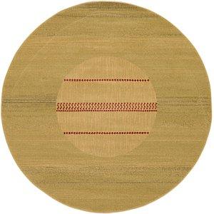 Unique Loom 6' x 6' Fars Round Rug
