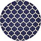 8' x 8' Lattice Round Rug thumbnail image 8