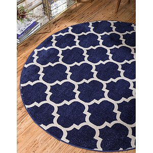 Link to 6' x 6' Trellis Round Rug page
